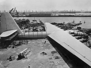 The Spruce Goose under Construction