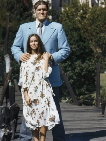 The Spy Who Loved Me 1977 Directed by Lewis Gilbert Richard Kiel / Barbara Bach