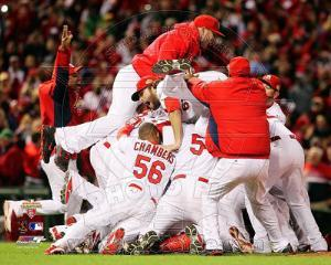 The St. Louis Cardinals Celebrate Winning World Series in Game 7 of the 2011 World Series  #2