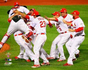 The St. Louis Cardinals Celebrate Winning World Series in Game 7 of the 2011 World Series  #3