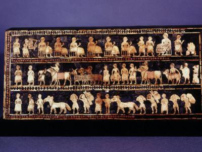 The Standard of Ur, Sumerian, Southern Iraq, c. 2500 BC