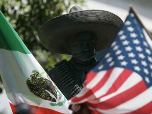 The Statute of Mexican Revolutionary War Hero General Emiliano Zapata