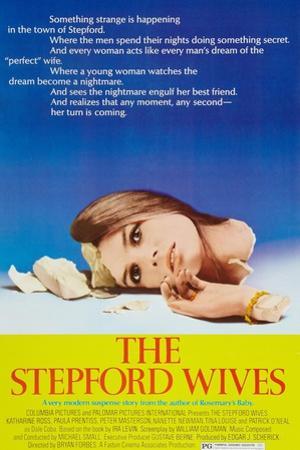 The Stepford Wives, Katharine Ross on poster art, 1975