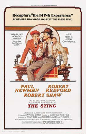 The Sting, from Left: Robert Redford, Paul Newman, 1973