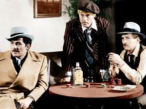 THE STING, from left: Robert Shaw, Robert Redford, Paul Newman, 1973