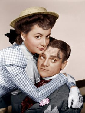 THE STRAWBERRY BLONDE, Olivia De Havilland, James Cagney, 1941