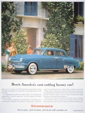 The Studebaker Land Cruiser, 1948