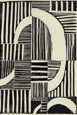 Abstract Linocut A by THE Studio