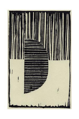 Abstract Linocut B