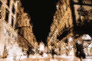 Blurred Street Scene 2 by THE Studio