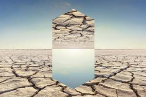 Desert Geometry 1 by THE Studio
