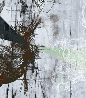 Frayed Abstract 2 by THE Studio