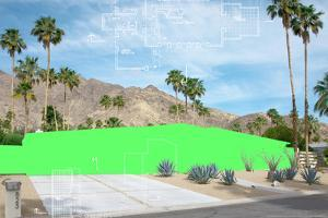 Palm Springs Color Block 2 by THE Studio