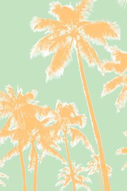 Retro Palms 1 by THE Studio