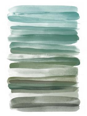 Watercolor Stripes A by THE Studio