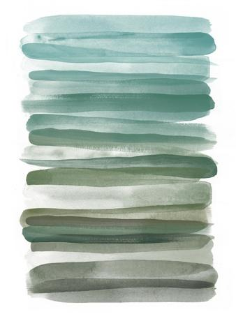 Watercolor Stripes A
