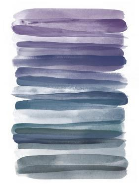 Watercolor Stripes B by THE Studio