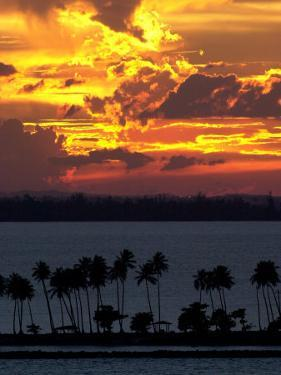 The Sun Sets Over the Bay of San Juan, Puerto Rico