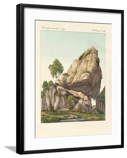 The Supposed Fossilized Reuter of Fontainebleau--Framed Giclee Print