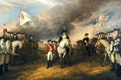 The Surrender of Lord Cornwallis Historical