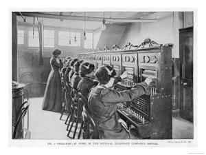 The Switchboard of the National Telephone Company United Kingdom