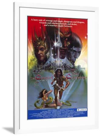 The Sword and the Sorcerer--Framed Poster
