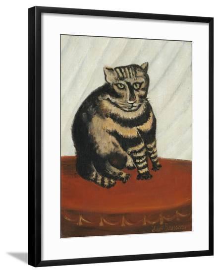 The Tabby-Henri Emilien Rousseau-Framed Giclee Print