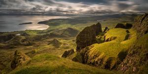 The Table in Quiraing at Trotternish Ridge, Isle of Skye, Scotland