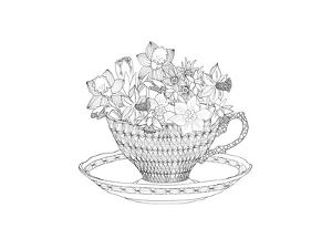 Daffodil Tea by The Tangled Peacock