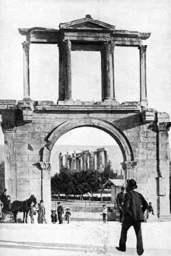 The Temple of Zeus, Olympia, Greece, 1922