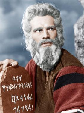 The Ten Commandment's, Charlton Heston, 1956