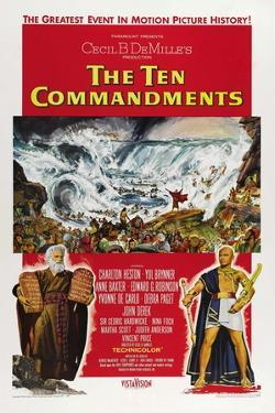 The Ten Commandments, 1956, Directed by Cecil B. Demille
