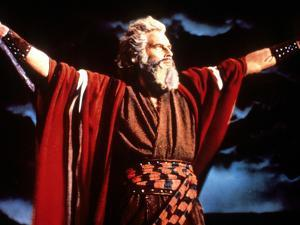 The Ten Commandments, Charlton Heston, 1956