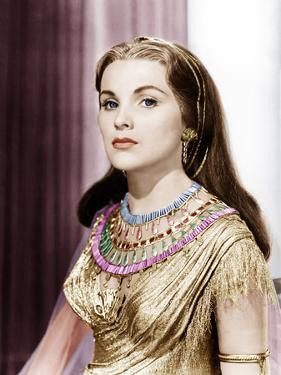 THE TEN COMMANDMENTS, Debra Paget, 1956