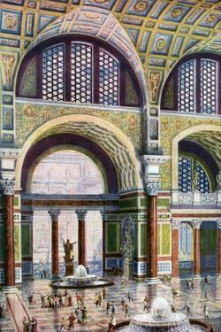 The Tepidarium of the Baths of Caracalla, Rome, Italy, 1933-1934