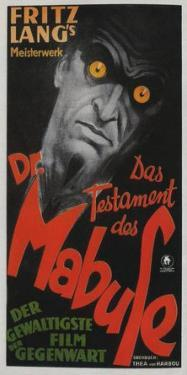The Testament of Dr. Mabuse - German Style