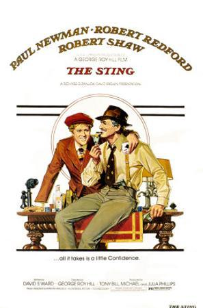 The The Sting, Robert Redford, Paul Newman, 1973