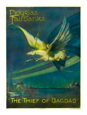 The Thief of Bagdad, Douglas Fairbanks on a Flying Horse, 1924