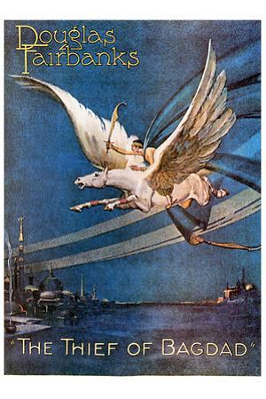 The Thief of Bagdad Movie Douglas Fairbanks Poster Print