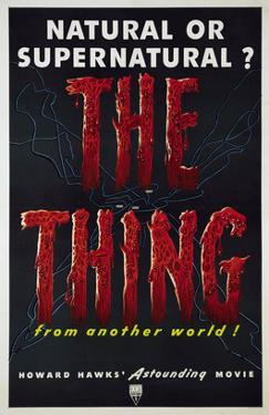 The Thing (aka the Thing From Another World), 1951