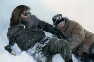 The Thing by JohnCarpenter with Kurt Russell and Charles Hallahan, 1982 (photo)