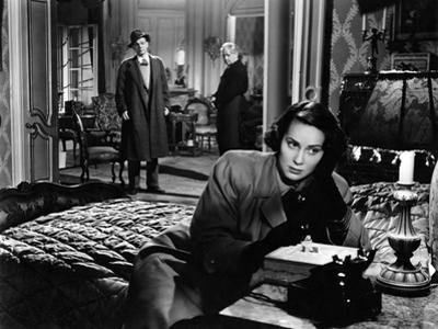 The Third Man, Alida Valli, Joseph Cotten, Paul Horbiger, 1949
