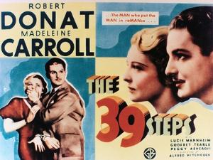 "The Thirty-nine Steps, 1935, ""The 39 Steps"" Directed by Alfred Hitchcock"