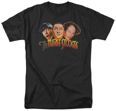 The Three Stooges - Three Head Logo