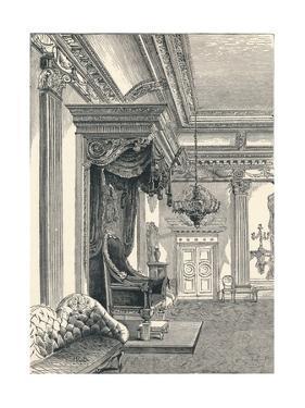 The Throne Room Dublin Castle, 1896