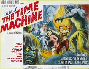 The Time Machine, Yvette Mimieux, Rod Taylor, 1960