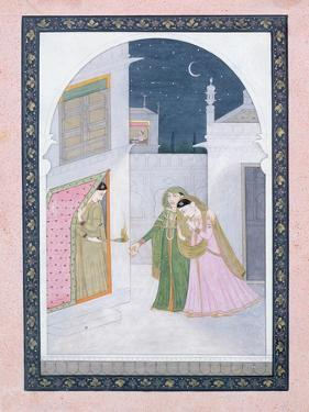 The Timid Bride, Kangra, C.1820