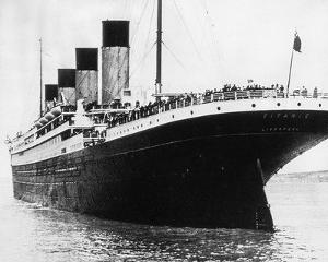 The Titanic, 1912