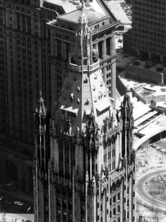 The Top of the Woolworth Building, New York City, May 1, 1972