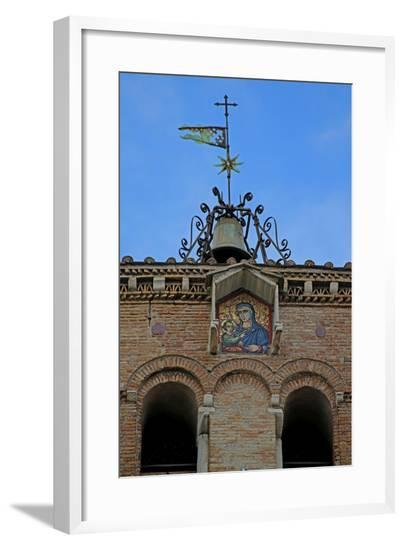 The Tower with Mosaic of the Virgin and Child--Framed Giclee Print